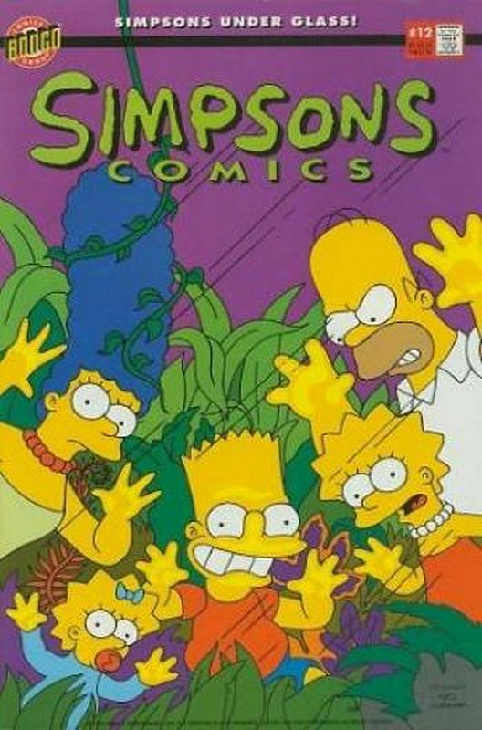 Cover of Simpsons Comics #12. One of 250,000 Vintage American Comics on sale from Krypton!