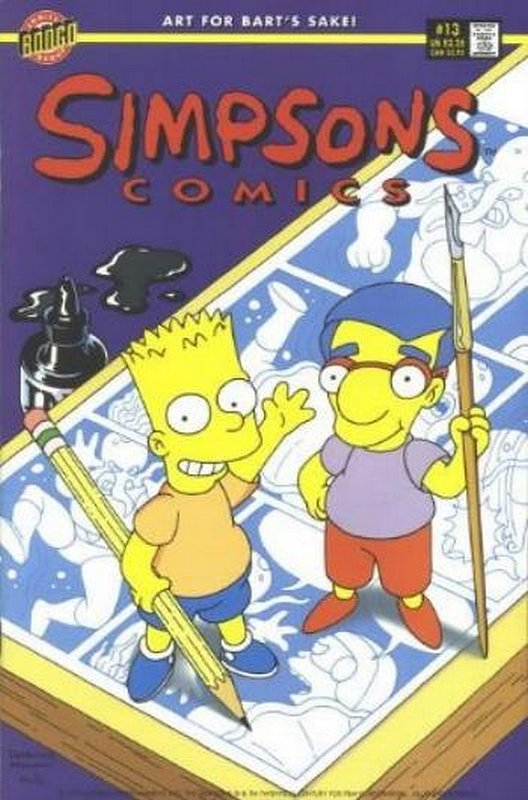 Cover of Simpsons Comics #13. One of 250,000 Vintage American Comics on sale from Krypton!