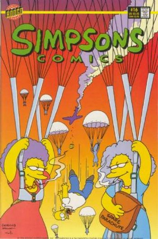 Cover of Simpsons Comics #16. One of 250,000 Vintage American Comics on sale from Krypton!