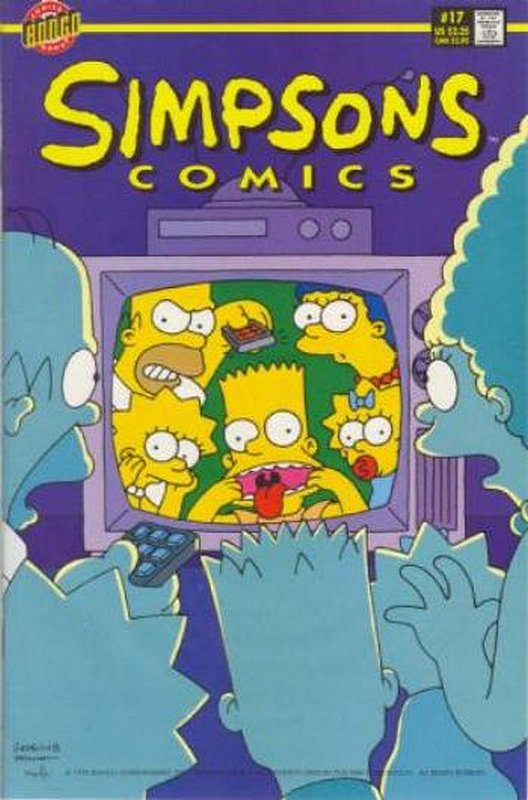 Cover of Simpsons Comics #17. One of 250,000 Vintage American Comics on sale from Krypton!