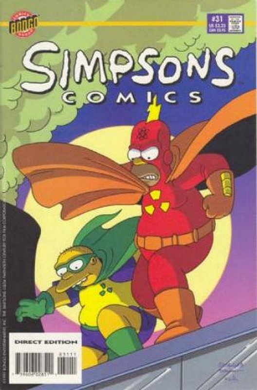 Cover of Simpsons Comics #31. One of 250,000 Vintage American Comics on sale from Krypton!