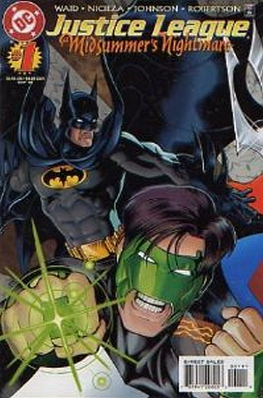 Cover of Justice League: Midsummers Nightmare (1996 Ltd) #1. One of 250,000 Vintage American Comics on sale from Krypton!
