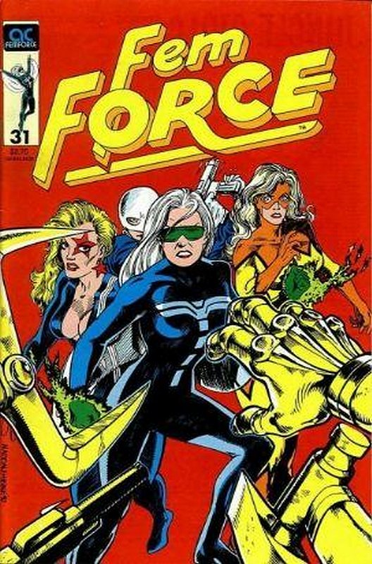 Cover of Femforce (Vol 1) #31. One of 250,000 Vintage American Comics on sale from Krypton!