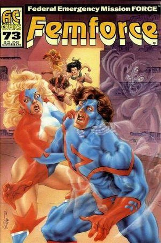 Cover of Femforce (Vol 1) #73. One of 250,000 Vintage American Comics on sale from Krypton!