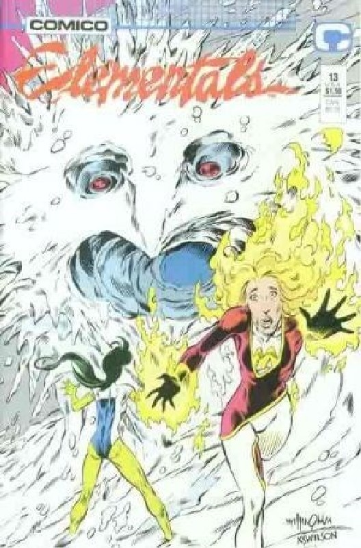 Cover of Elementals (Vol 1) #13. One of 250,000 Vintage American Comics on sale from Krypton!