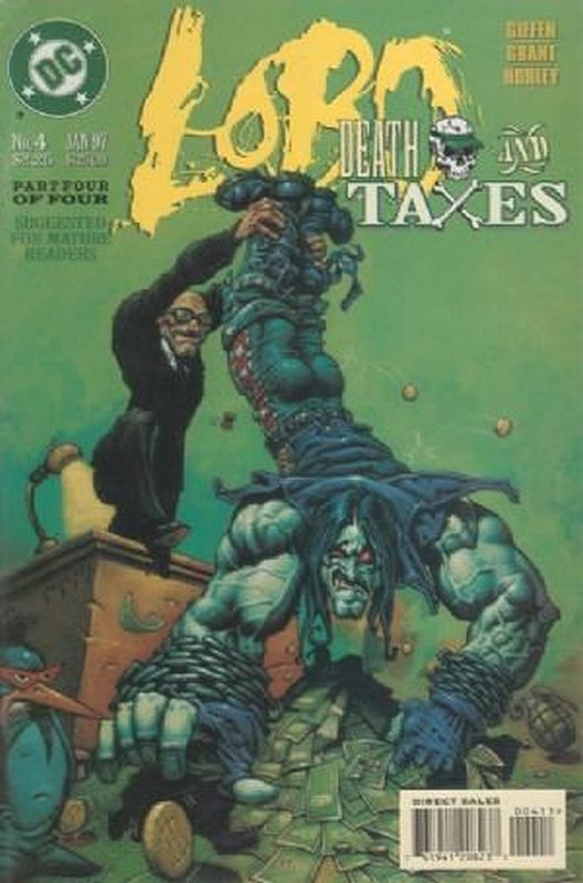 Cover of Lobo: Death & Taxes (1996 Ltd) #4. One of 250,000 Vintage American Comics on sale from Krypton!
