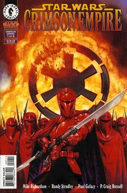 Cover of Star Wars: Crimson Empire #1. One of 250,000 Vintage American Comics on sale from Krypton!