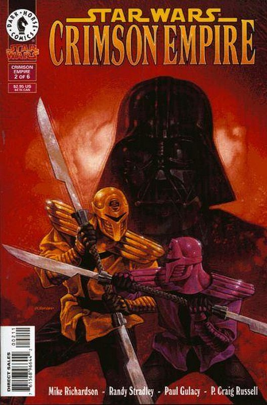 Cover of Star Wars: Crimson Empire #2. One of 250,000 Vintage American Comics on sale from Krypton!