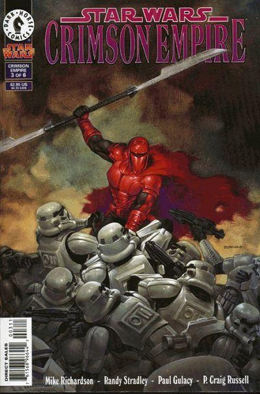 Cover of Star Wars: Crimson Empire #3. One of 250,000 Vintage American Comics on sale from Krypton!