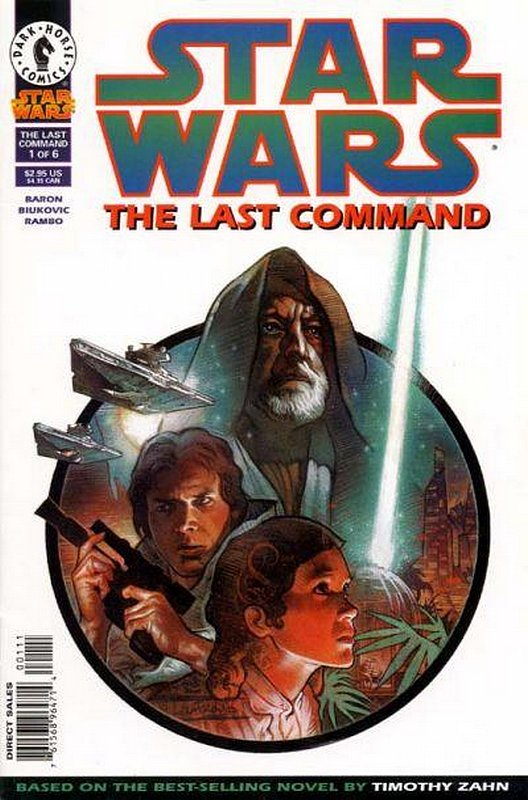 Cover of Star Wars: The Last Command #1. One of 250,000 Vintage American Comics on sale from Krypton!