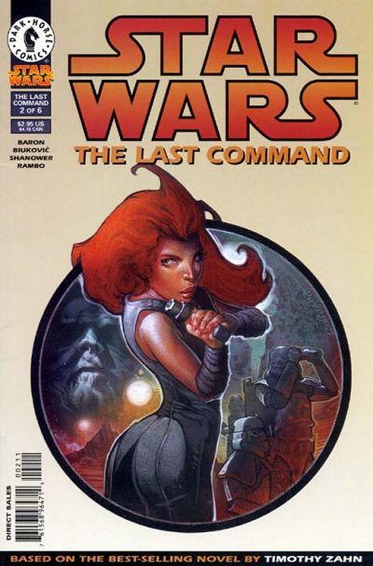 Cover of Star Wars: The Last Command #2. One of 250,000 Vintage American Comics on sale from Krypton!