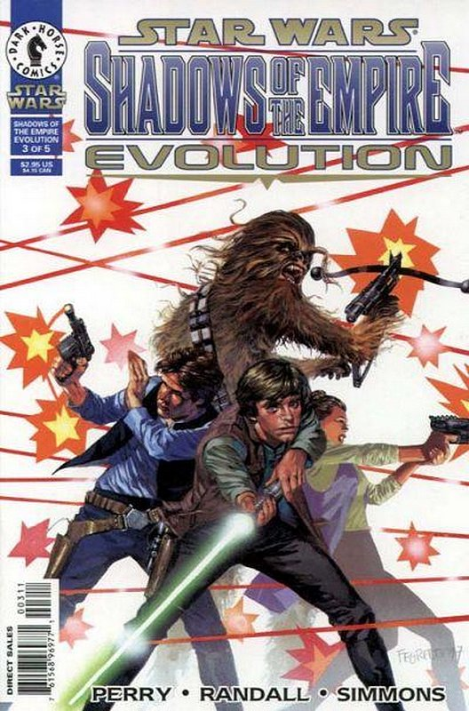 Cover of Star Wars: Shadows of the Empire-Evolution #3. One of 250,000 Vintage American Comics on sale from Krypton!