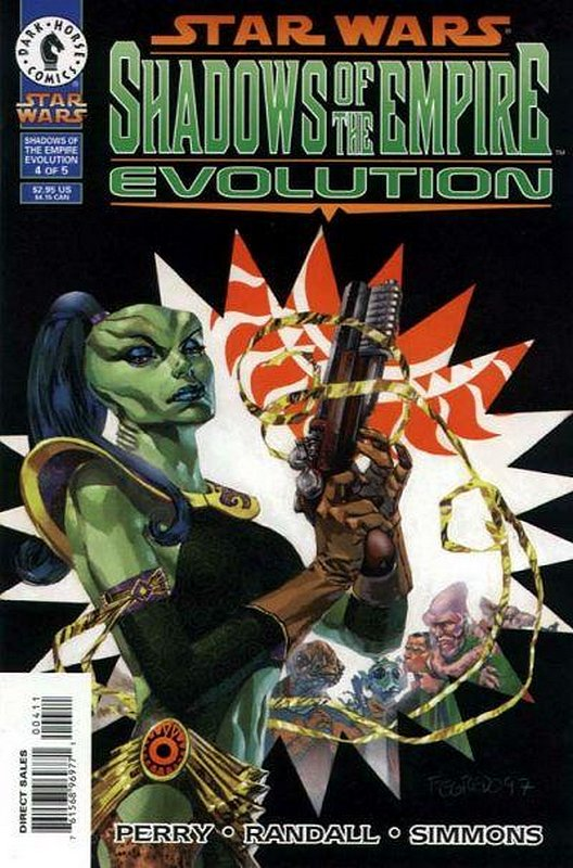 Cover of Star Wars: Shadows of the Empire-Evolution #4. One of 250,000 Vintage American Comics on sale from Krypton!