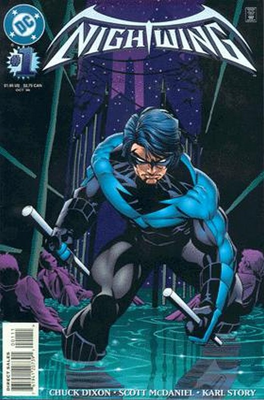 Cover of Nightwing (Vol 1) #1. One of 250,000 Vintage American Comics on sale from Krypton!