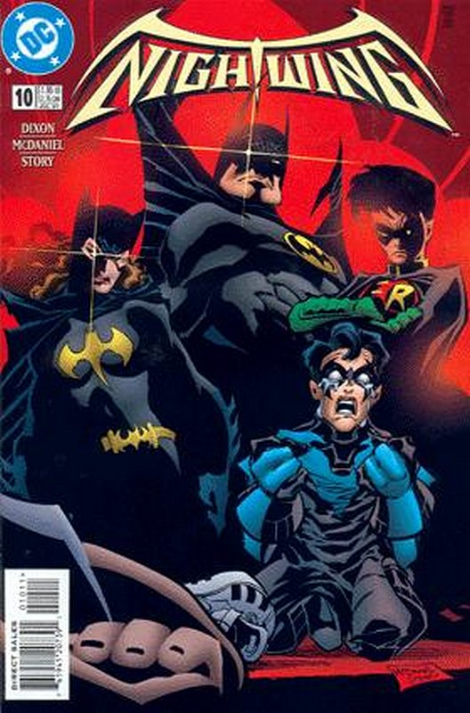 Cover of Nightwing (Vol 1) #10. One of 250,000 Vintage American Comics on sale from Krypton!