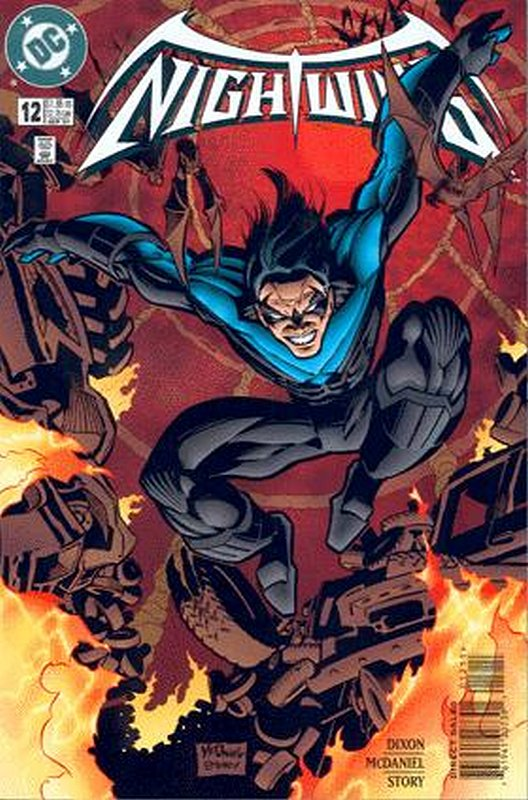 Cover of Nightwing (Vol 1) #12. One of 250,000 Vintage American Comics on sale from Krypton!