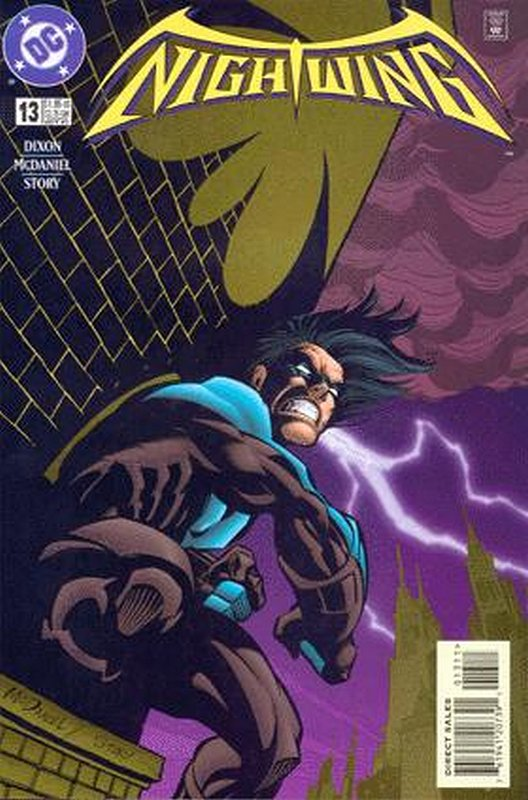 Cover of Nightwing (Vol 1) #13. One of 250,000 Vintage American Comics on sale from Krypton!