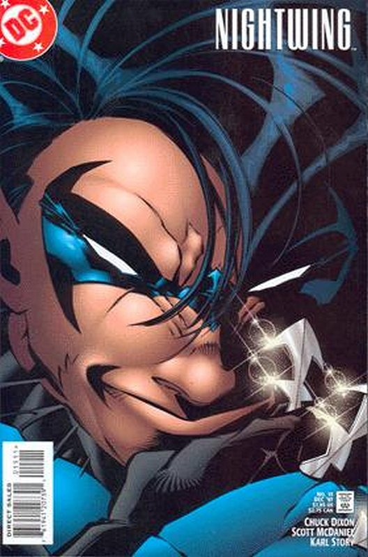 Cover of Nightwing (Vol 1) #15. One of 250,000 Vintage American Comics on sale from Krypton!