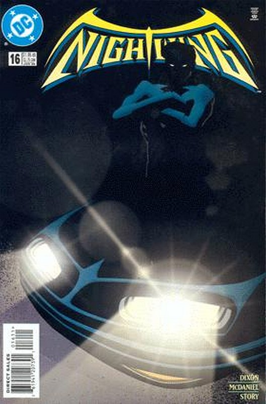 Cover of Nightwing (Vol 1) #16. One of 250,000 Vintage American Comics on sale from Krypton!