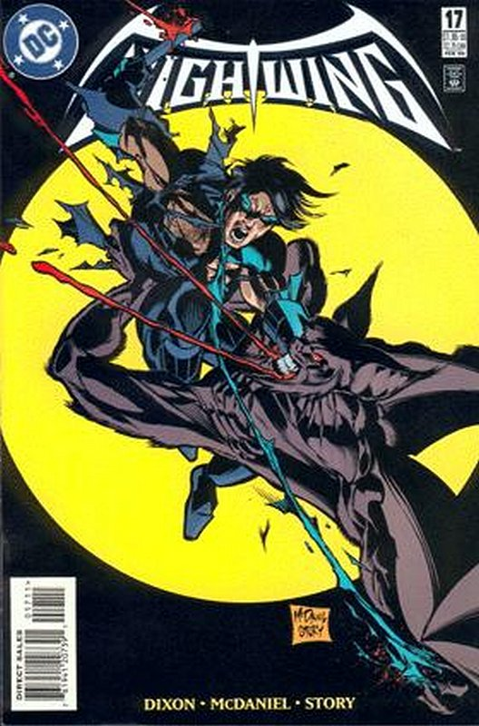 Cover of Nightwing (Vol 1) #17. One of 250,000 Vintage American Comics on sale from Krypton!