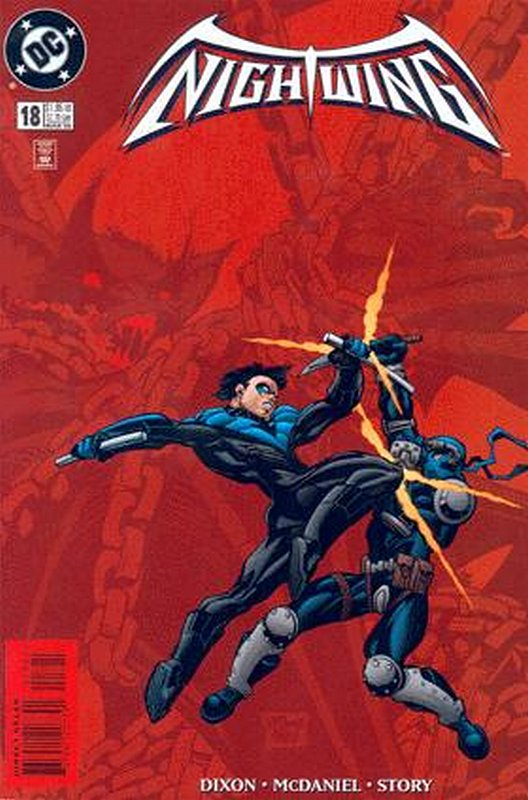 Cover of Nightwing (Vol 1) #18. One of 250,000 Vintage American Comics on sale from Krypton!
