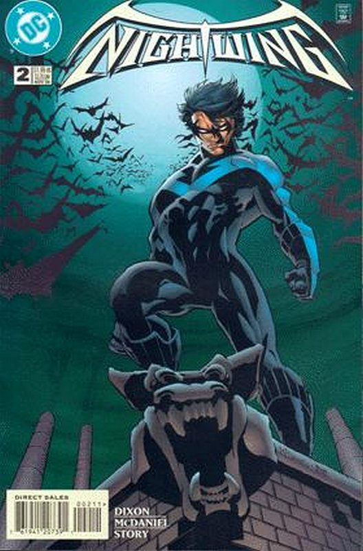 Cover of Nightwing (Vol 1) #2. One of 250,000 Vintage American Comics on sale from Krypton!