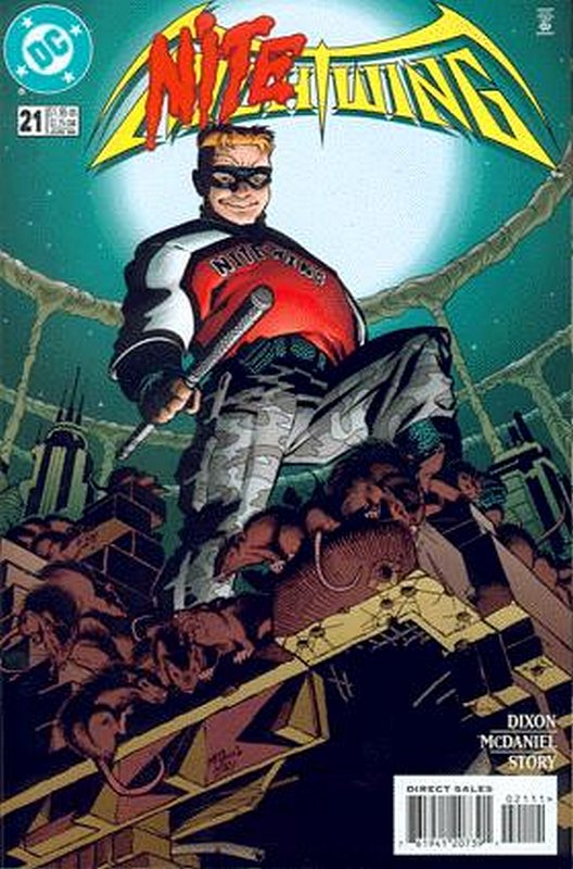 Cover of Nightwing (Vol 1) #21. One of 250,000 Vintage American Comics on sale from Krypton!