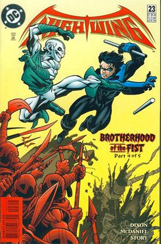 Cover of Nightwing (Vol 1) #23. One of 250,000 Vintage American Comics on sale from Krypton!