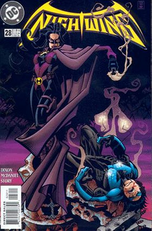 Cover of Nightwing (Vol 1) #28. One of 250,000 Vintage American Comics on sale from Krypton!