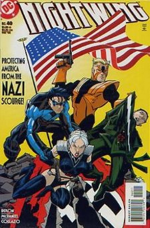 Cover of Nightwing (Vol 1) #40. One of 250,000 Vintage American Comics on sale from Krypton!