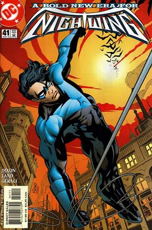 Cover of Nightwing (Vol 1) #41. One of 250,000 Vintage American Comics on sale from Krypton!