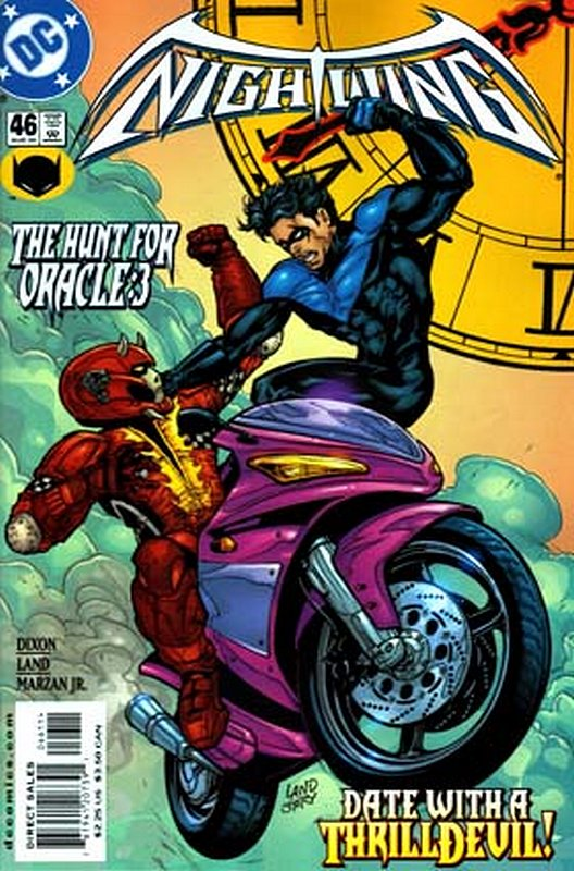 Cover of Nightwing (Vol 1) #46. One of 250,000 Vintage American Comics on sale from Krypton!