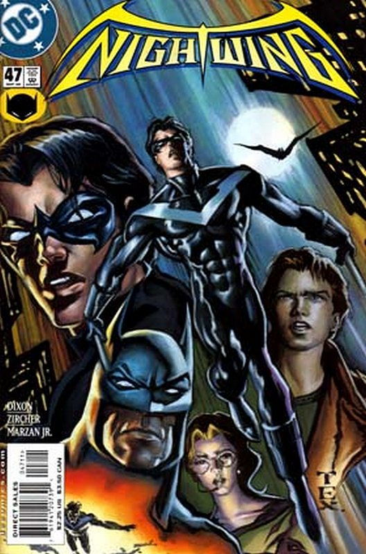 Cover of Nightwing (Vol 1) #47. One of 250,000 Vintage American Comics on sale from Krypton!