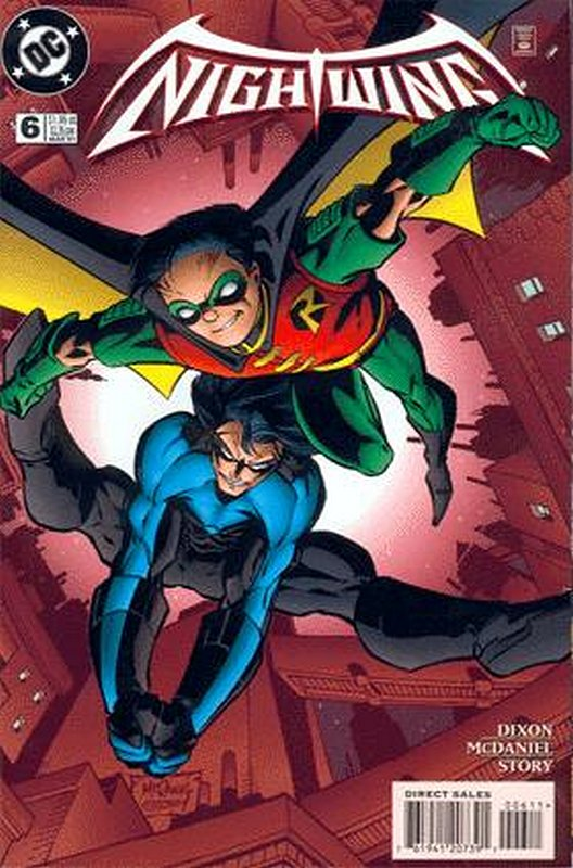 Cover of Nightwing (Vol 1) #6. One of 250,000 Vintage American Comics on sale from Krypton!