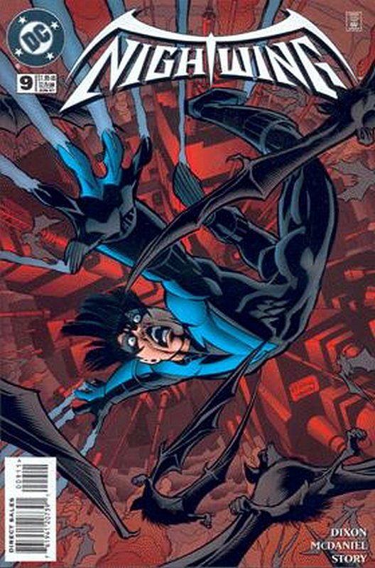 Cover of Nightwing (Vol 1) #9. One of 250,000 Vintage American Comics on sale from Krypton!