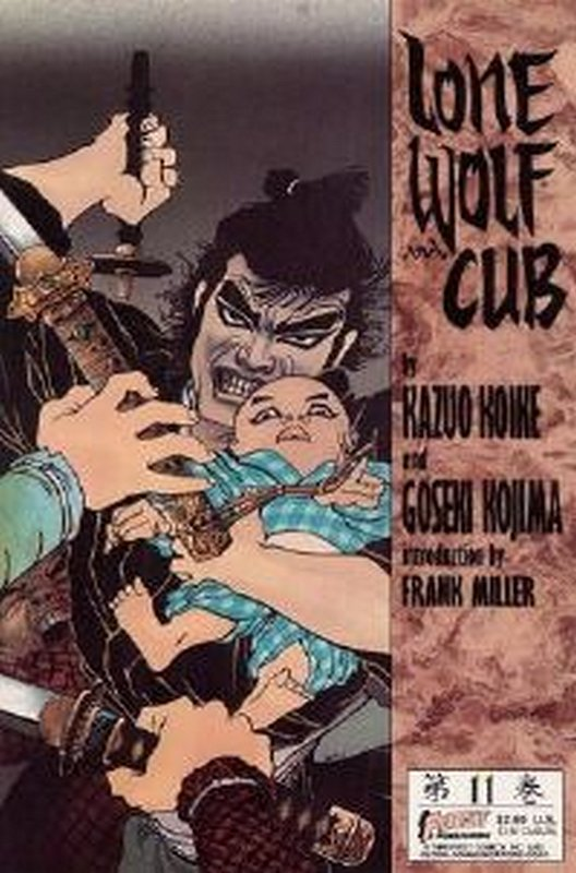 Cover of Lone Wolf and Cub (Vol 1) #11. One of 250,000 Vintage American Comics on sale from Krypton!