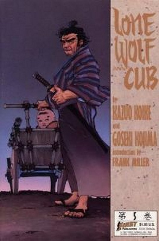 Cover of Lone Wolf and Cub (Vol 1) #5. One of 250,000 Vintage American Comics on sale from Krypton!