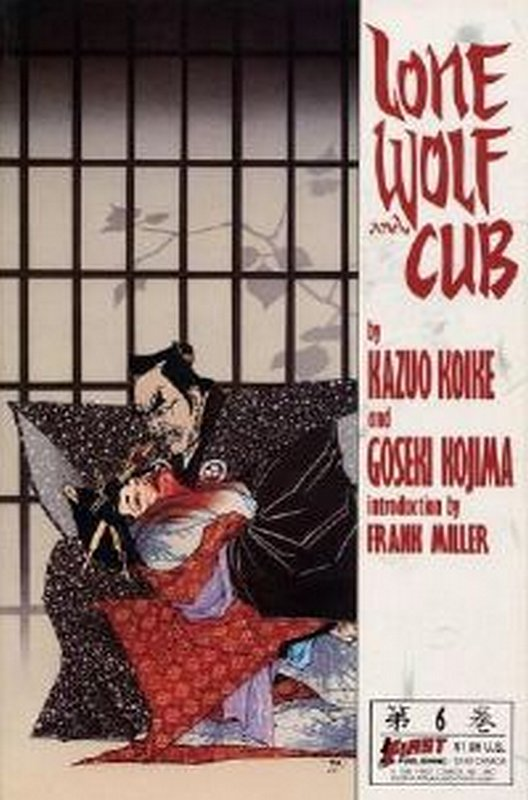 Cover of Lone Wolf and Cub (Vol 1) #6. One of 250,000 Vintage American Comics on sale from Krypton!