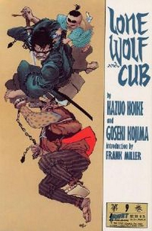 Cover of Lone Wolf and Cub (Vol 1) #9. One of 250,000 Vintage American Comics on sale from Krypton!