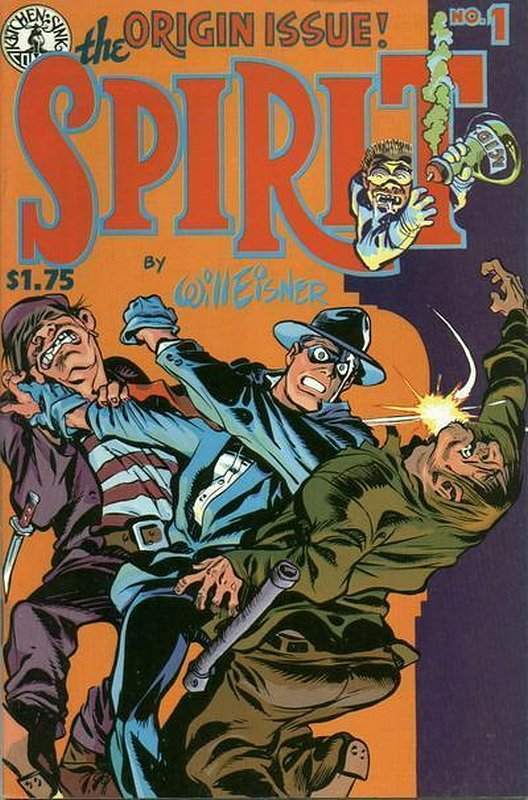 Cover of Spirit (Kitchen Sink) (Vol 1) #1. One of 250,000 Vintage American Comics on sale from Krypton!