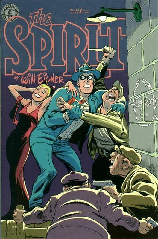 Cover of Spirit (Kitchen Sink) (Vol 1) #13. One of 250,000 Vintage American Comics on sale from Krypton!