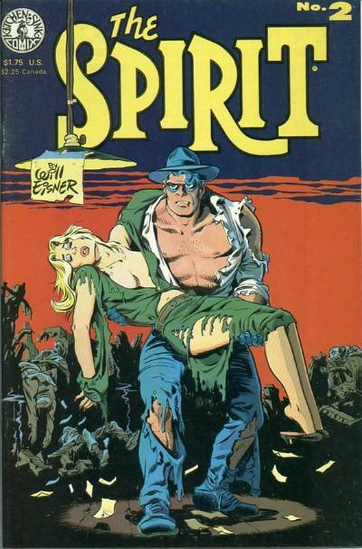 Cover of Spirit (Kitchen Sink) (Vol 1) #2. One of 250,000 Vintage American Comics on sale from Krypton!