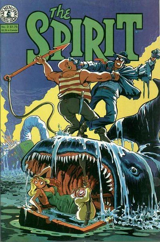 Cover of Spirit (Kitchen Sink) (Vol 1) #3. One of 250,000 Vintage American Comics on sale from Krypton!