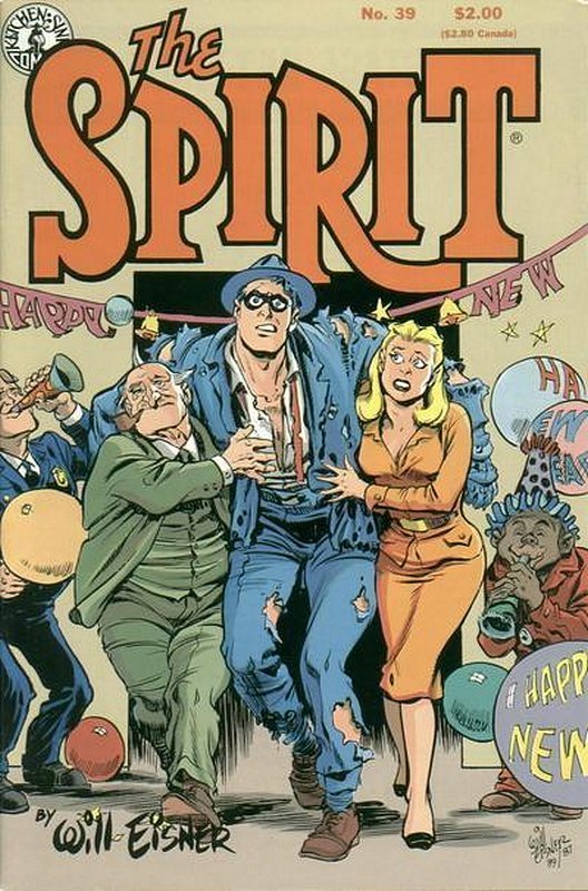 Cover of Spirit (Kitchen Sink) (Vol 1) #39. One of 250,000 Vintage American Comics on sale from Krypton!