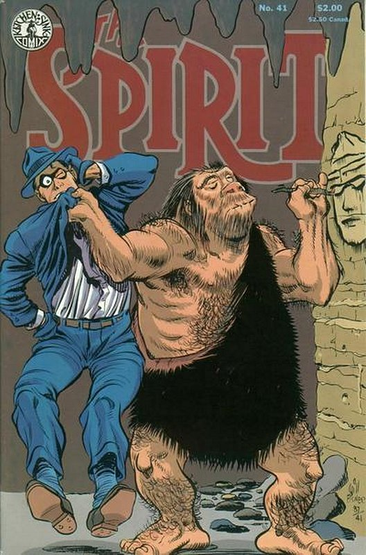 Cover of Spirit (Kitchen Sink) (Vol 1) #41. One of 250,000 Vintage American Comics on sale from Krypton!