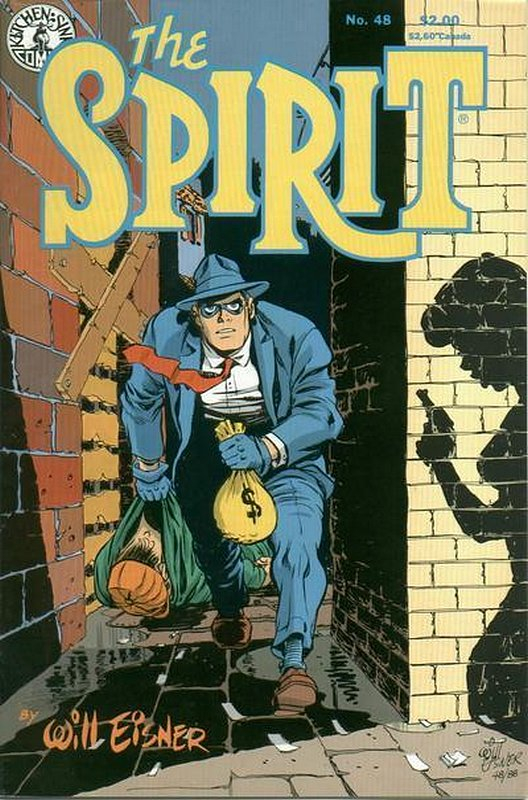 Cover of Spirit (Kitchen Sink) (Vol 1) #48. One of 250,000 Vintage American Comics on sale from Krypton!