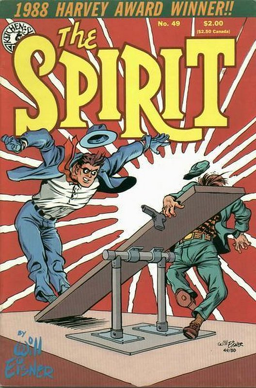 Cover of Spirit (Kitchen Sink) (Vol 1) #49. One of 250,000 Vintage American Comics on sale from Krypton!