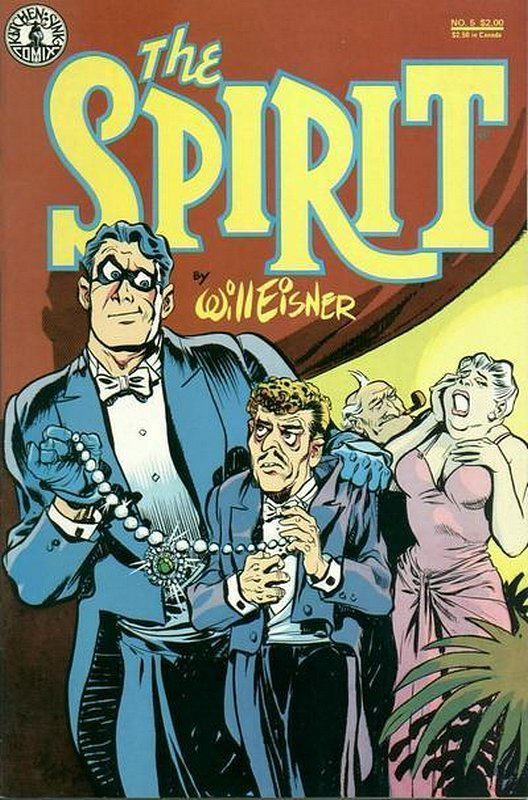 Cover of Spirit (Kitchen Sink) (Vol 1) #5. One of 250,000 Vintage American Comics on sale from Krypton!