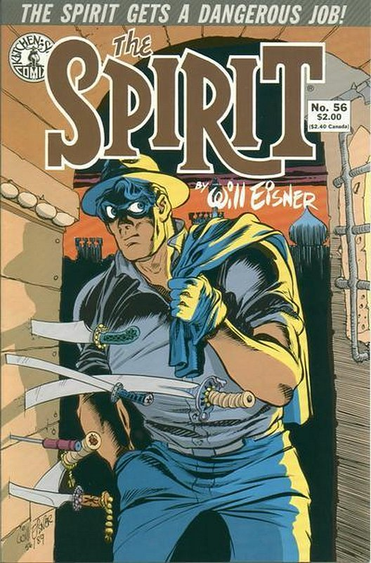 Cover of Spirit (Kitchen Sink) (Vol 1) #56. One of 250,000 Vintage American Comics on sale from Krypton!