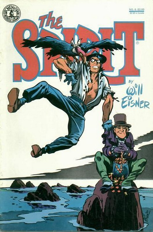 Cover of Spirit (Kitchen Sink) (Vol 1) #6. One of 250,000 Vintage American Comics on sale from Krypton!